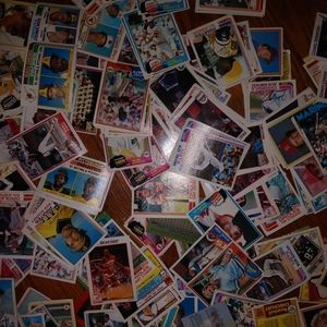 100's of old baseball cards